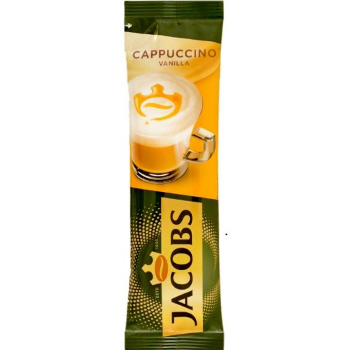 Jacobs Cappuccino Vanilla 15g *8 displ