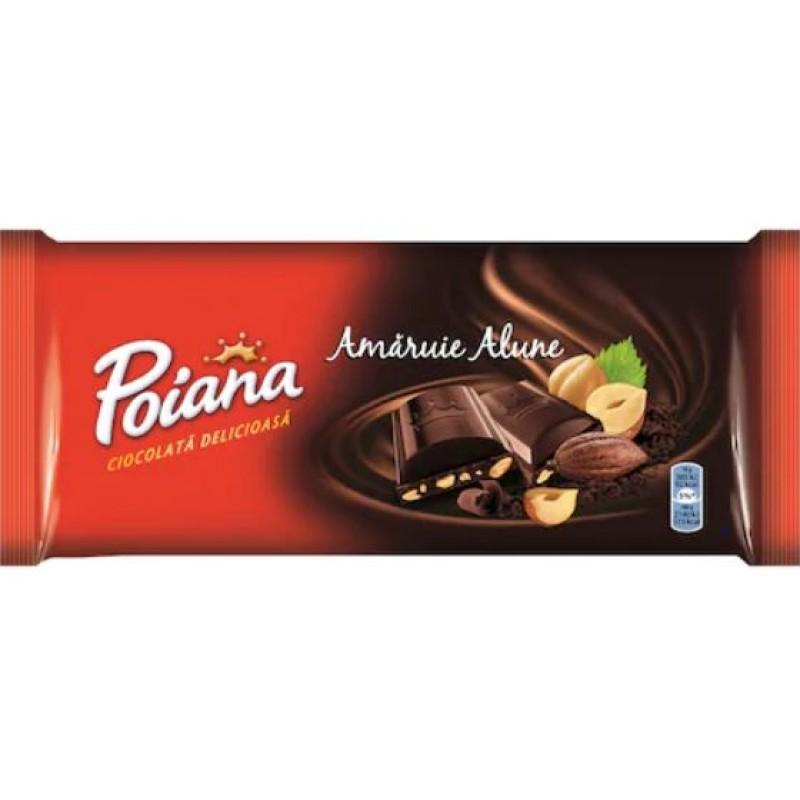 Poiana Ciocolata Amaruie Alune 90g *22