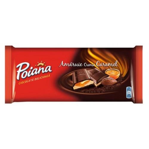 Poiana Ciocolata Amaruie Cr. Caramel 90g *25