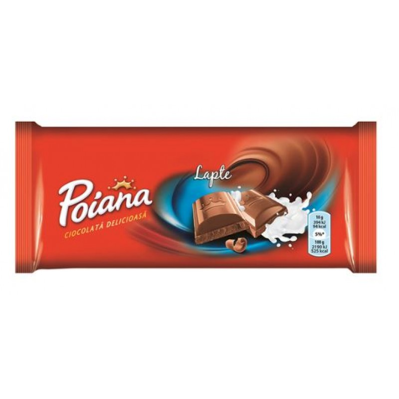 Poiana Ciocolata Lapte 90g *23