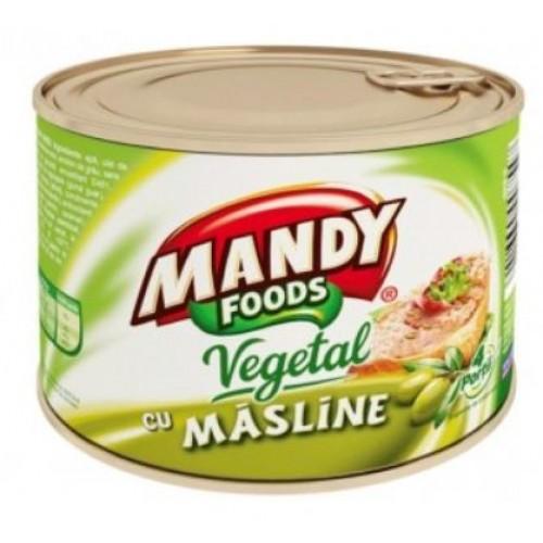 Mandy Pate vegetal Masline 200g *6