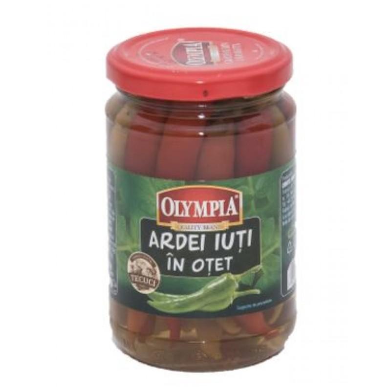 Olympia Ardei iuti in otet 314 ml*6