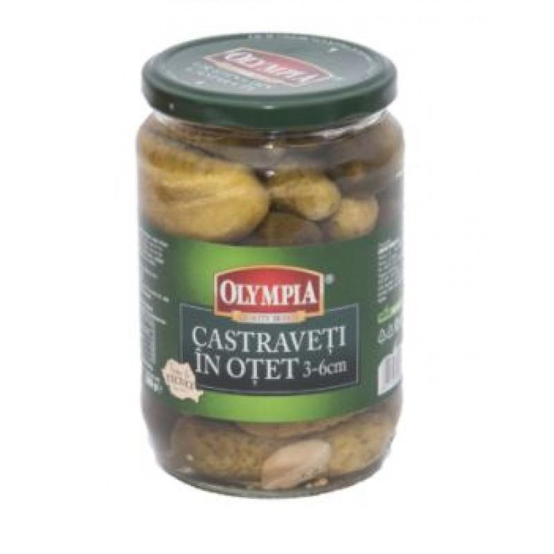 Olympia Castraveti 3-6 in otet 720ml*6