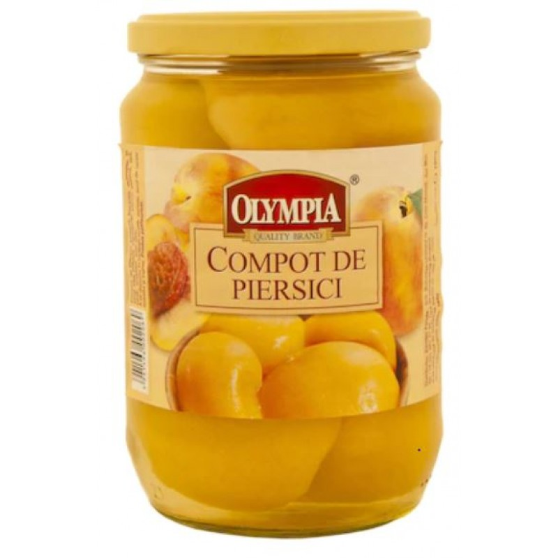 Olympia Compot piersici decojite 720ml*6