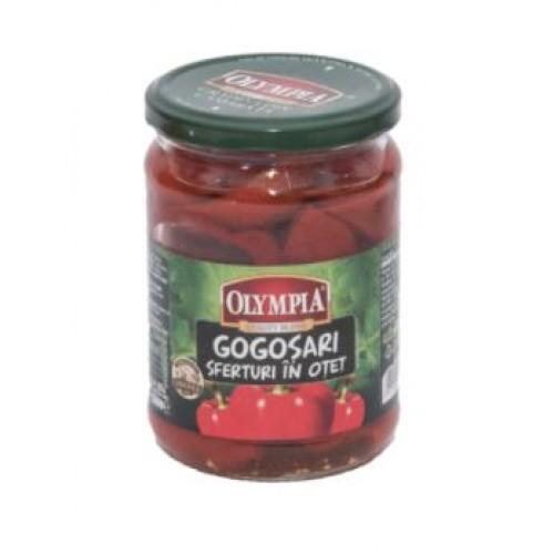 Olympia Gogosari sferturi in otet 720ml*6