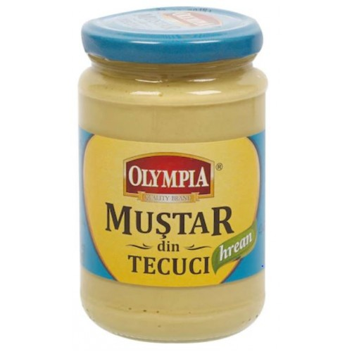 Olympia Mustar cu hrean 314ml*6