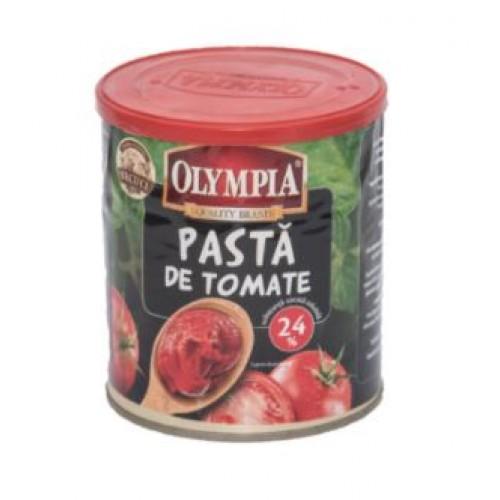 Olympia Pasta de tomate 24%  cutie, capac plastic 800ml*6