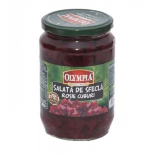 Olympia Salata sfecla rosie cuburi 720ml*6