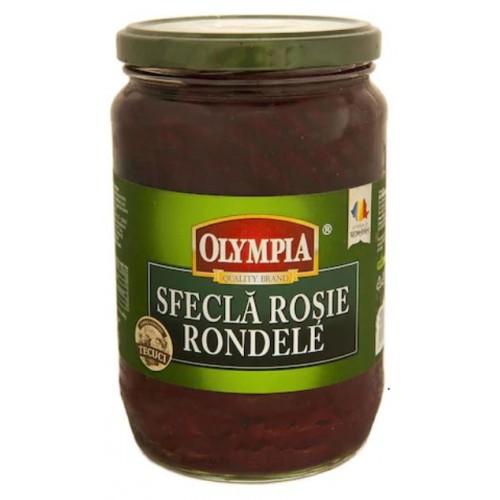 Olympia Salata sfecla rosie rondele 720ml*6