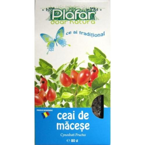 Plafar Ceai Macese tocate cutie 80g*18