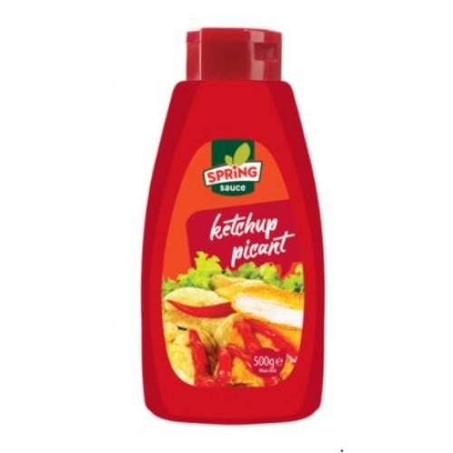 Spring Ketchup picant 500g *6