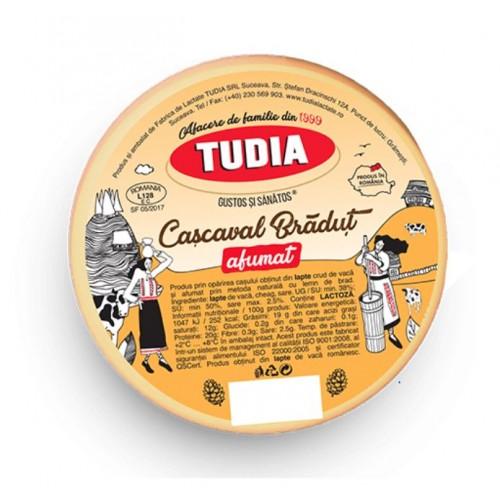 Tudia Cascaval Bradut afumat 400g *25