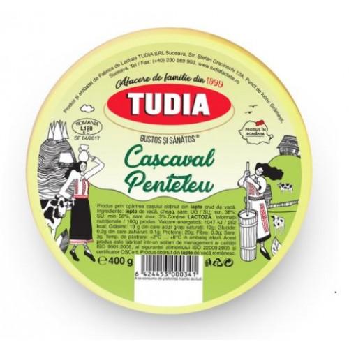 Tudia Cascaval Penteleu 400g *25
