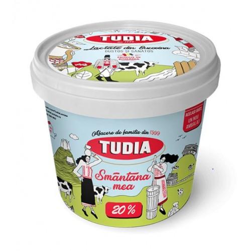 Tudia Smantana 20% grasime 1kg *6