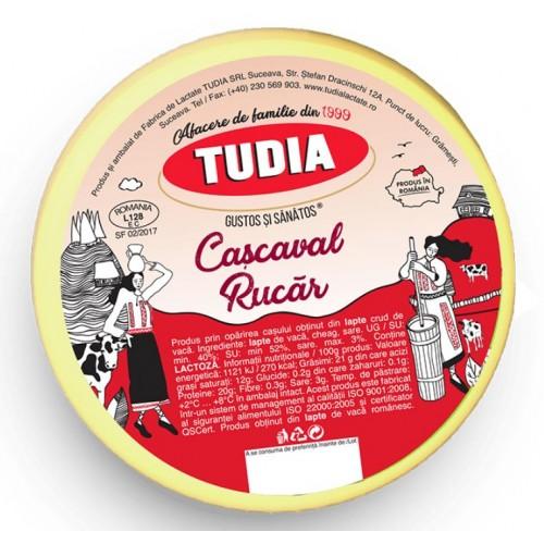 Tudia Cascaval Rucar 400g *25