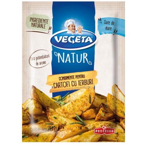 Vegeta Natur Condimente pentru cartofi 20g *20