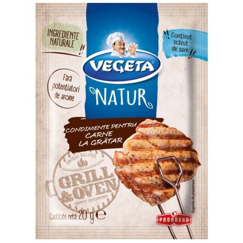 Vegeta Natur Condimente pentru carne la gratar 20g *20